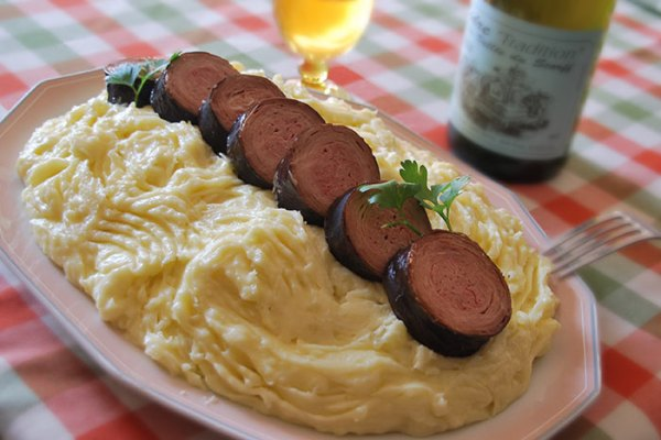 andouille puree